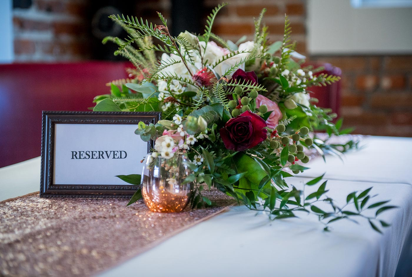 Reserved Table